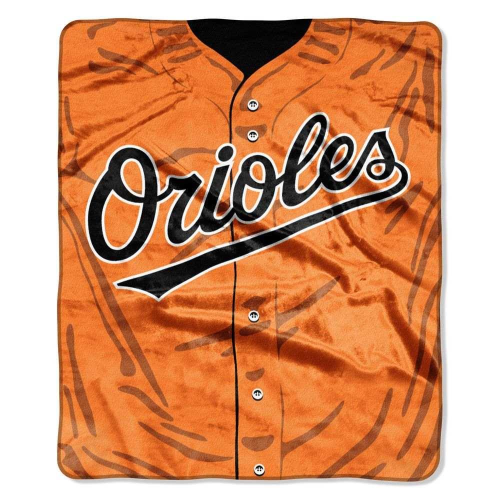 ノースウエスト Northwest ユニセックス 雑貨【Baltimore Orioles Jersey Raschel Throw Blanket】
