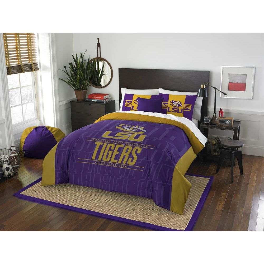 ノースウエスト Northwest ユニセックス 雑貨【LSU Tigers Draft Full/Queen Comforter Set】