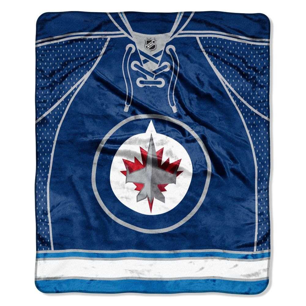 ノースウエスト Northwest ユニセックス 雑貨【Winnipeg Jets Jersey Raschel Throw Blanket】