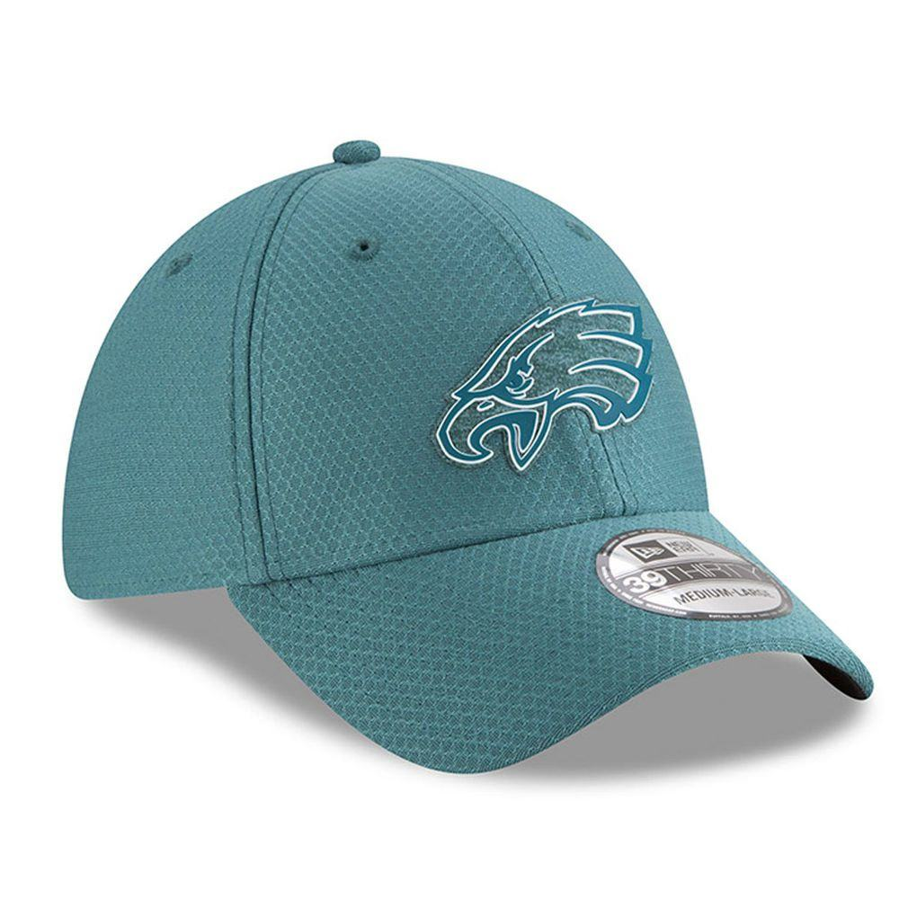 ニューエラ New Era ユニセックス 帽子 キャップ【Philadelphia Eagles 2018 Training Camp 39THRITY Cap】Green