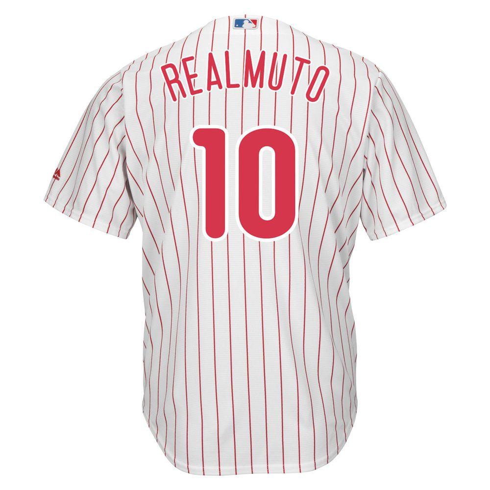 ファナティクス Fanatics メンズ トップス【Philadelphia Phillies Adult J.T. Realmuto Replica Jersey】White