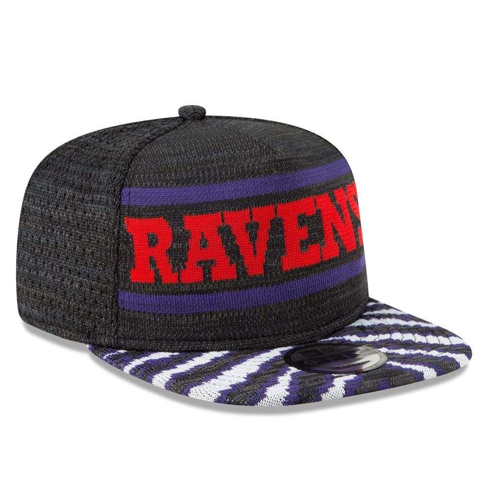 ニューエラ New Era ユニセックス 帽子 キャップ【Baltimore Ravens Adult Zubaz 9FIFTY Snapback Hat】Purple