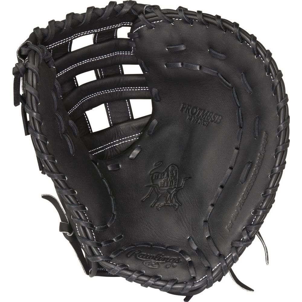 ローリングス ユニセックス 野球 グローブ Black 【サイズ交換無料】 ローリングス Rawlings ユニセックス 野球 グローブ【Heart of the Hide Dual Core Series 12.5 Inch Right Hand Throw First Basemens Mitt】Black