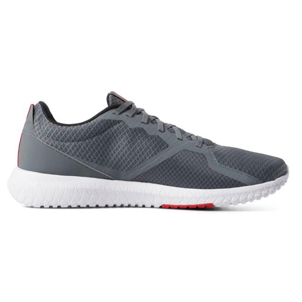 リーボック Reebok メンズ フィットネス・トレーニング シューズ・靴【Flexagon Force Training Shoe】Grey/White
