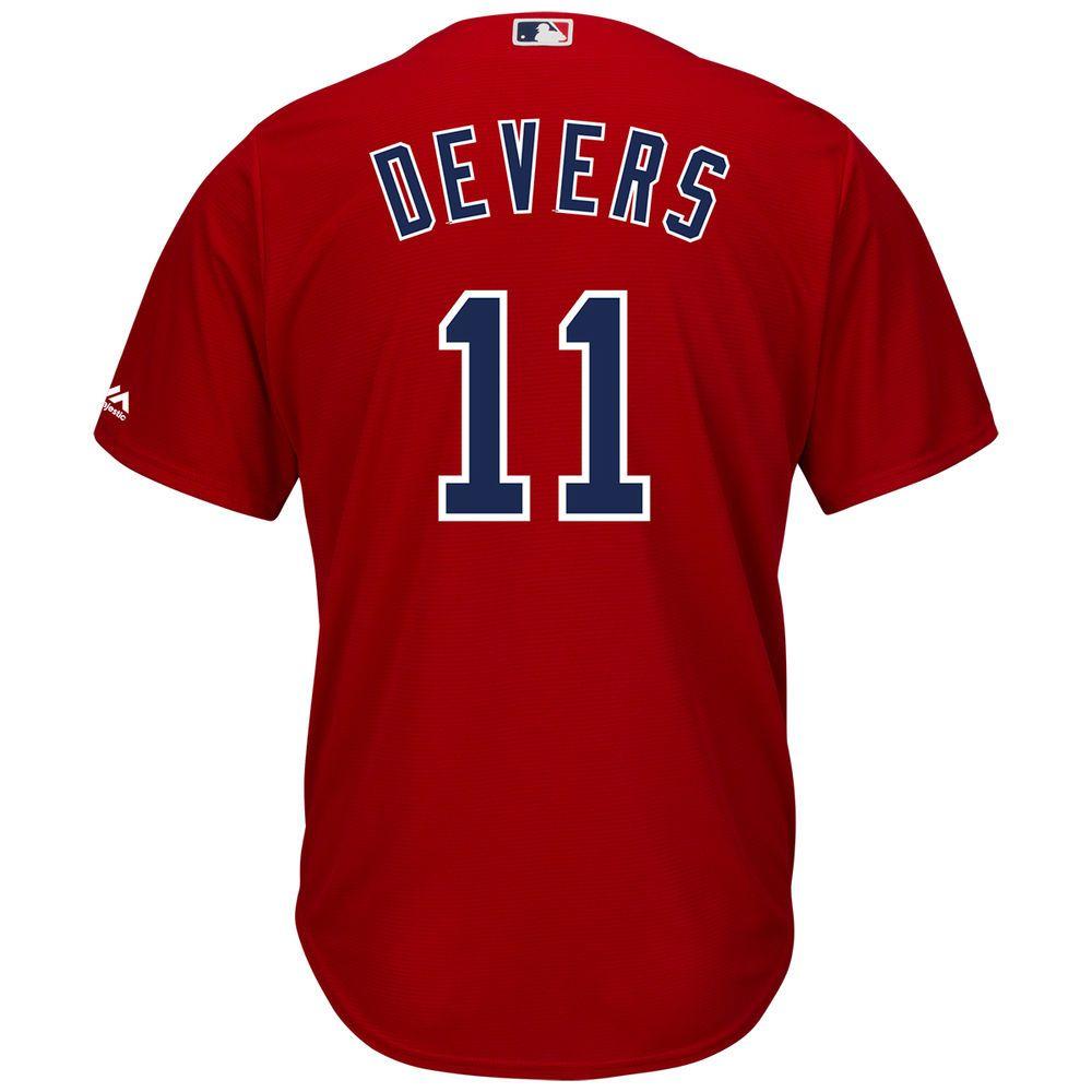 マジェスティック Majestic メンズ トップス【Boston Red Sox Adult Rafael Devers Cool Base Jersey】Scarlet