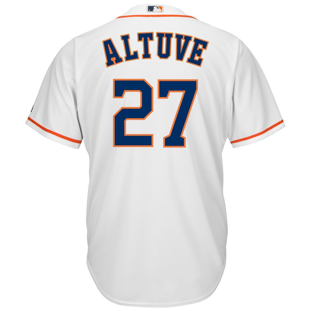 マジェスティック Majestic メンズ トップス【Houston Astros Jose Altuve Adult Cool Base Replica Jersey】White