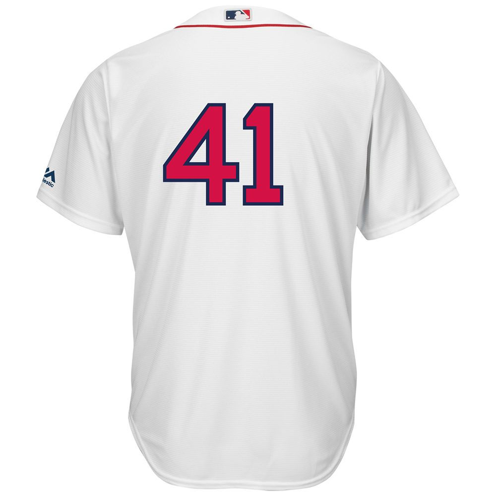 マジェスティック Majestic メンズ トップス【Boston Red Sox Adult Chris Sale Cool Base Jersey】White