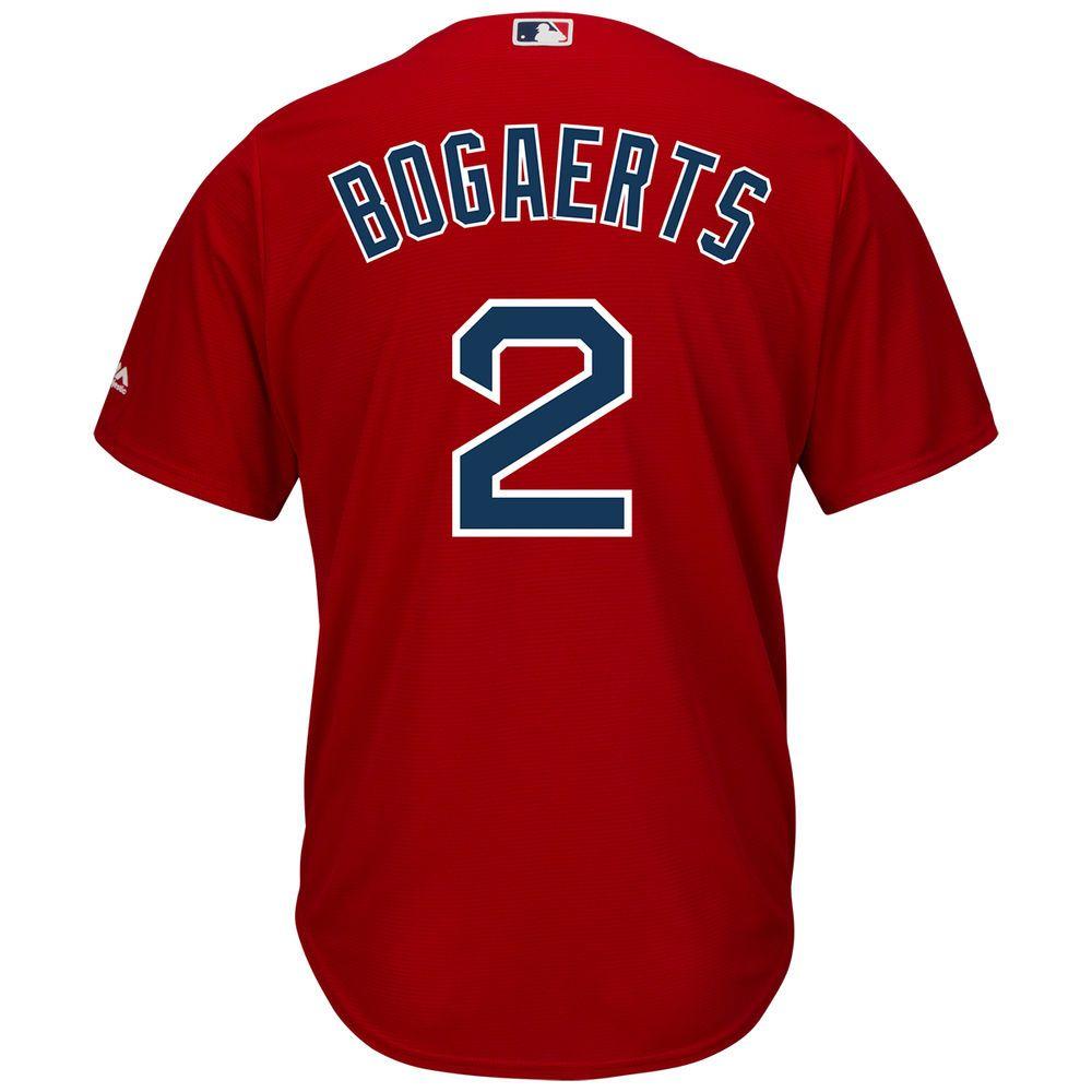 マジェスティック Majestic メンズ トップス【Boston Red Sox Xander Bogaerts Adult Cool Base Replica Jersey】Scarlet
