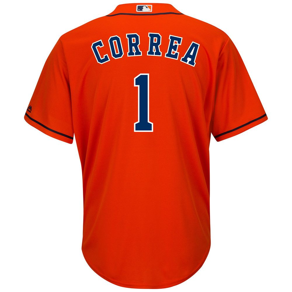 マジェスティック Majestic メンズ トップス【Houston Astros Adult Carlos Correa Alternate Jersey】