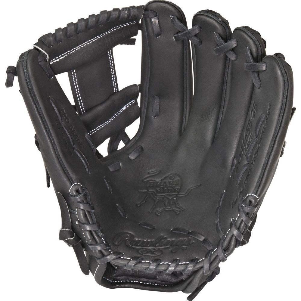 ローリングス ユニセックス 野球 グローブ Black 【サイズ交換無料】 ローリングス Rawlings ユニセックス 野球 グローブ【Heart of the Hide Dual Core Series 12 Inch Right Hand Throw Baseball Glove】Black