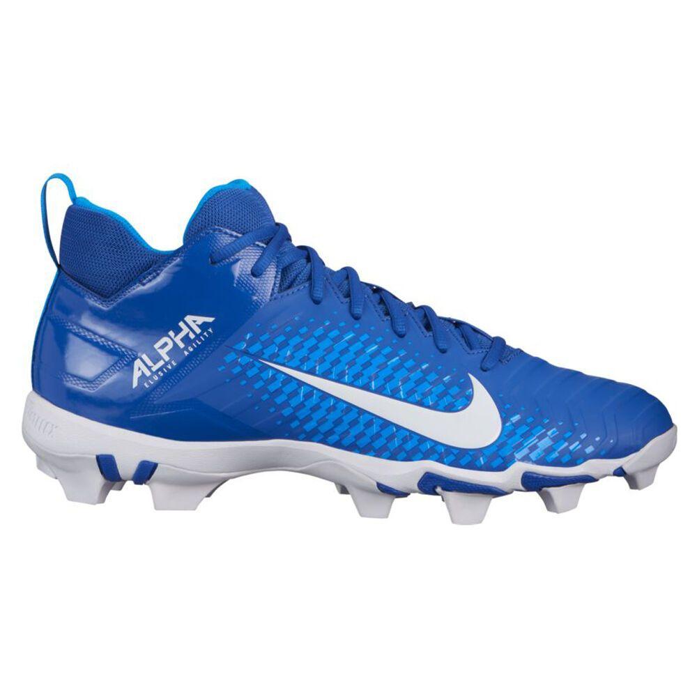 ナイキ Nike メンズ アメリカンフットボール スパイク シューズ・靴【Alpha Menace 2 Shark Football Cleat】Royal/White