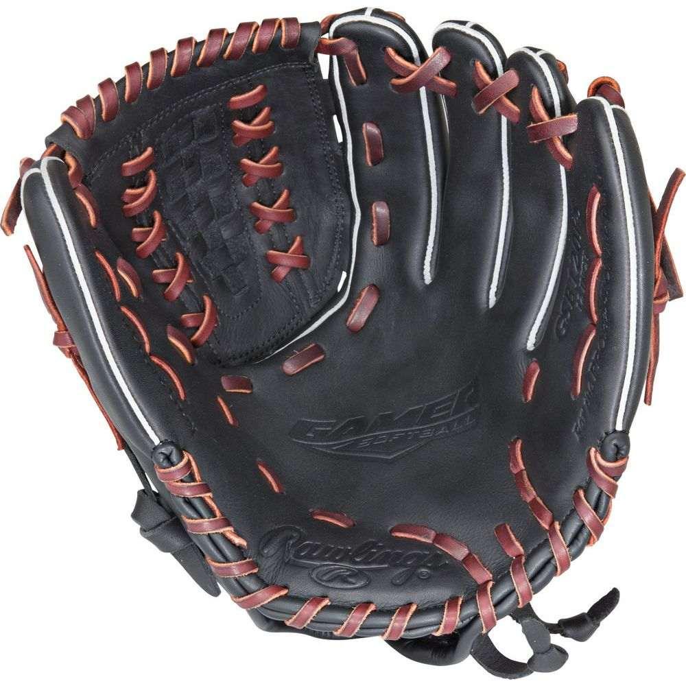 ローリングス ユニセックス 野球 グローブ Black 【サイズ交換無料】 ローリングス Rawlings ユニセックス 野球 グローブ【Gamer Series 12 Inch Right Hand Throw Baseball Glove】Black
