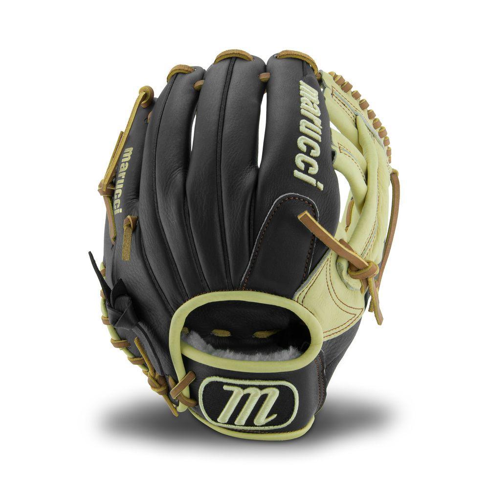 マルッチ ユニセックス 野球 グローブ Black 【サイズ交換無料】 マルッチ Marucci ユニセックス 野球 グローブ【RS225 11.25 Inch Baseball Glove】Black