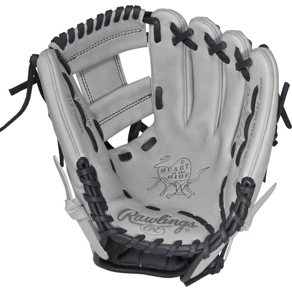 ローリングス ユニセックス 野球 グローブ Grey 【サイズ交換無料】 ローリングス Rawlings ユニセックス 野球 グローブ【Heart of the Hide Series 11.25 Inch Right Hand Throw Baseball Glove】Grey