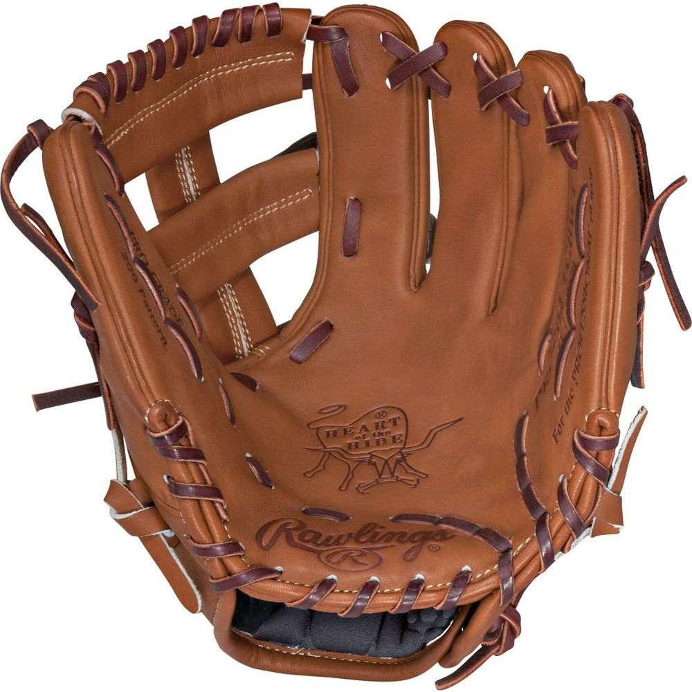 ローリングス ユニセックス 野球 グローブ Brown 【サイズ交換無料】 ローリングス Rawlings ユニセックス 野球 グローブ【Heart of the Hide Series 11.5 Inch Right Hand Throw Baseball Glove】Brown