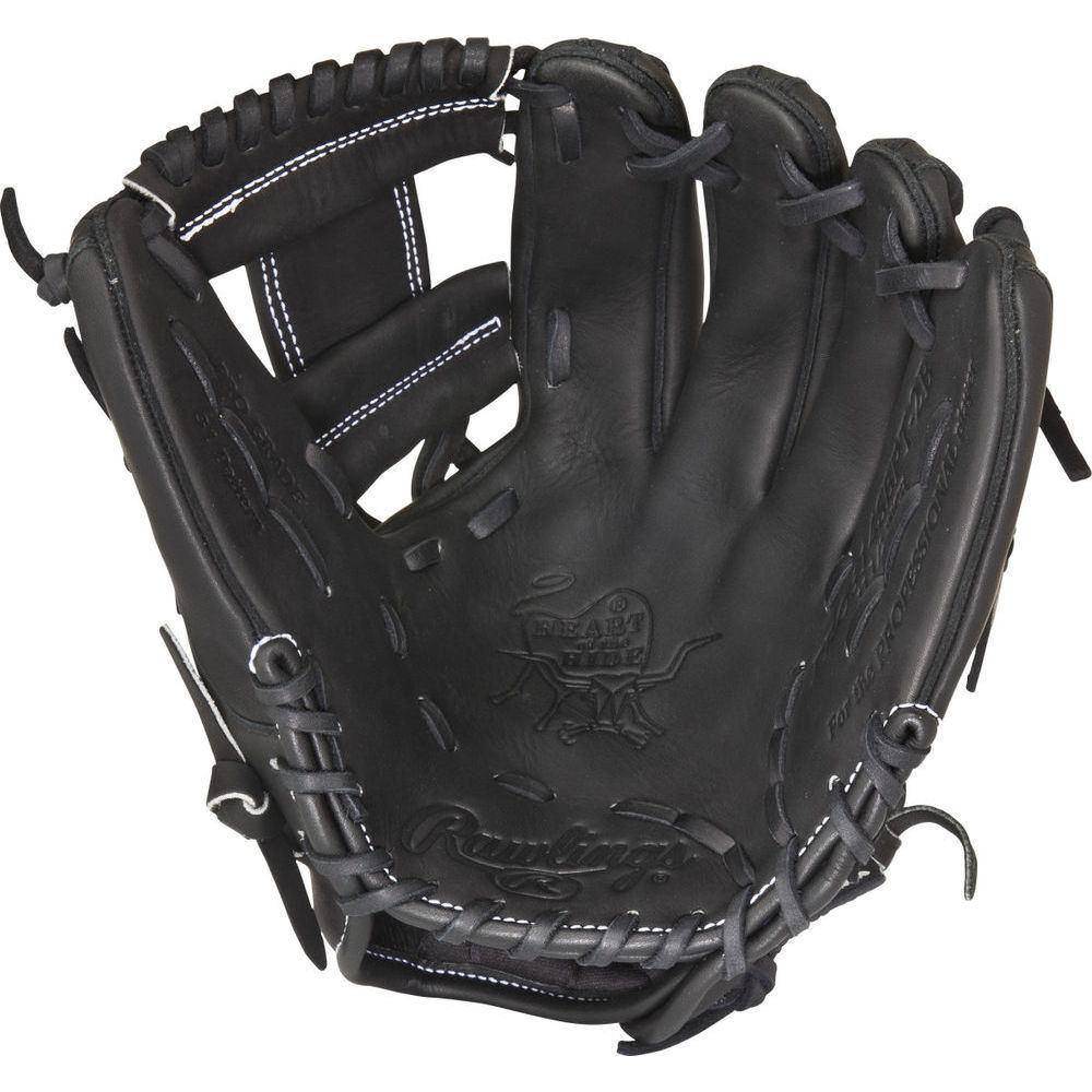 ローリングス ユニセックス 野球 グローブ Black 【サイズ交換無料】 ローリングス Rawlings ユニセックス 野球 グローブ【Heart of the Hide Dual Core Series 11.5 Inch Right Hand Throw Baseball Glove】Black