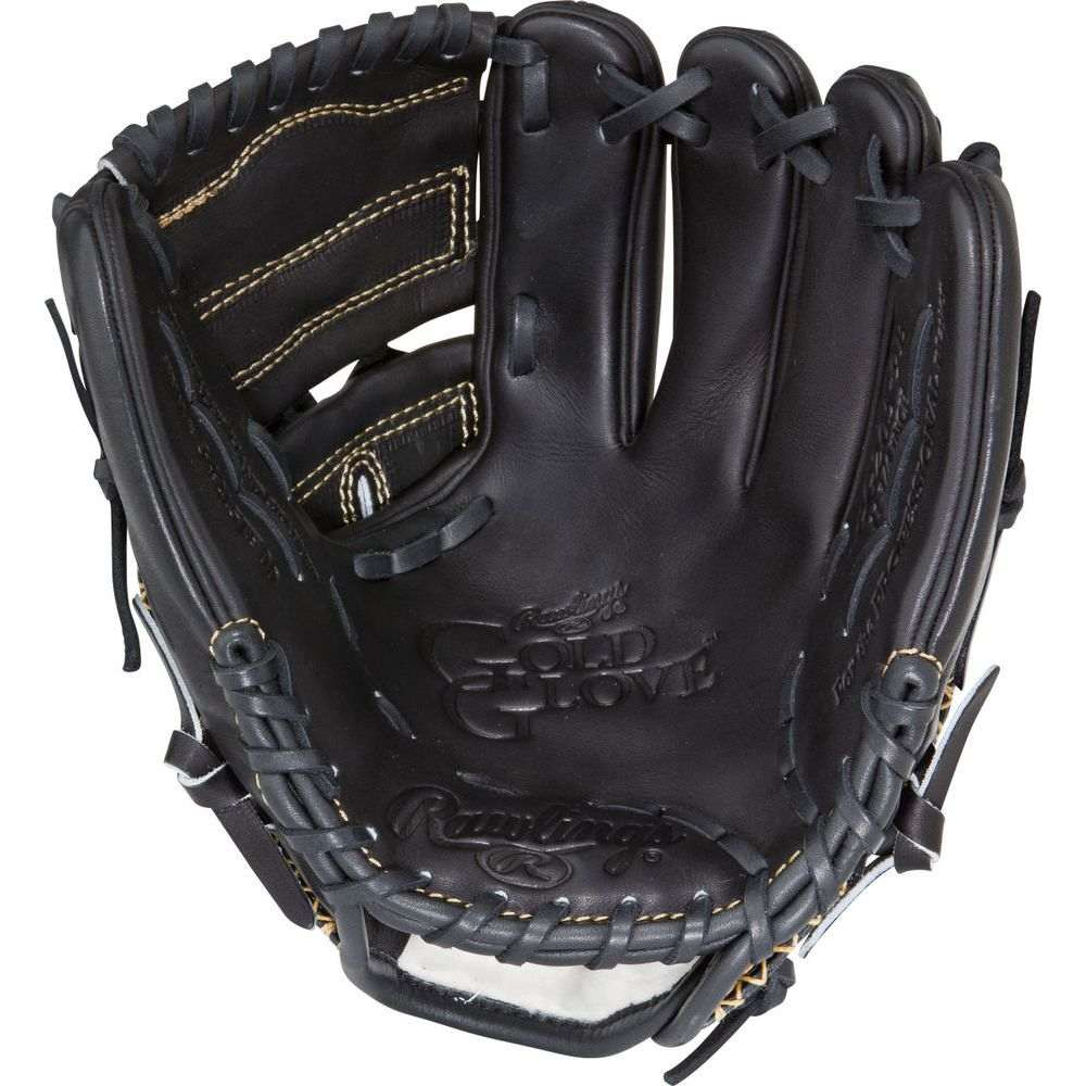 ローリングス ユニセックス 野球 グローブ Black 【サイズ交換無料】 ローリングス Rawlings ユニセックス 野球 グローブ【Gold Glove Series 11.75 Inch Right Hand Throw Baseball Glove】Black