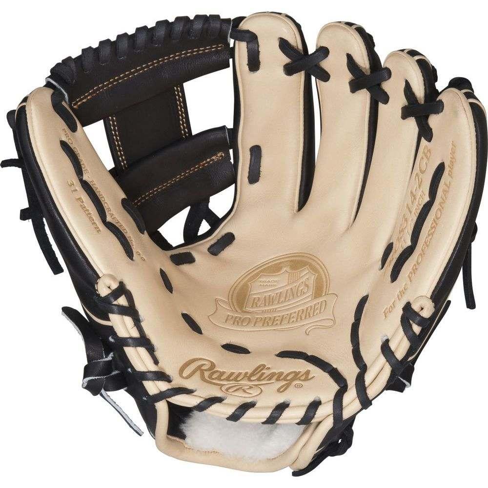 ローリングス ユニセックス 野球 グローブ Tan 【サイズ交換無料】 ローリングス Rawlings ユニセックス 野球 グローブ【Pro Preferred Series 11.5 Inch Right Hand Throw Baseball Glove】Tan