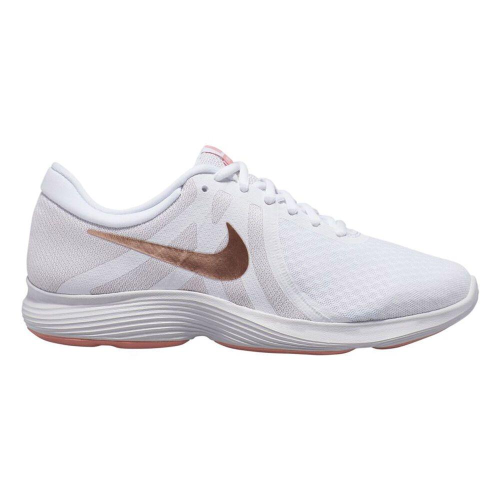 ナイキ Nike レディース ランニング・ウォーキング シューズ・靴【Revolution 4 Running Shoe】White