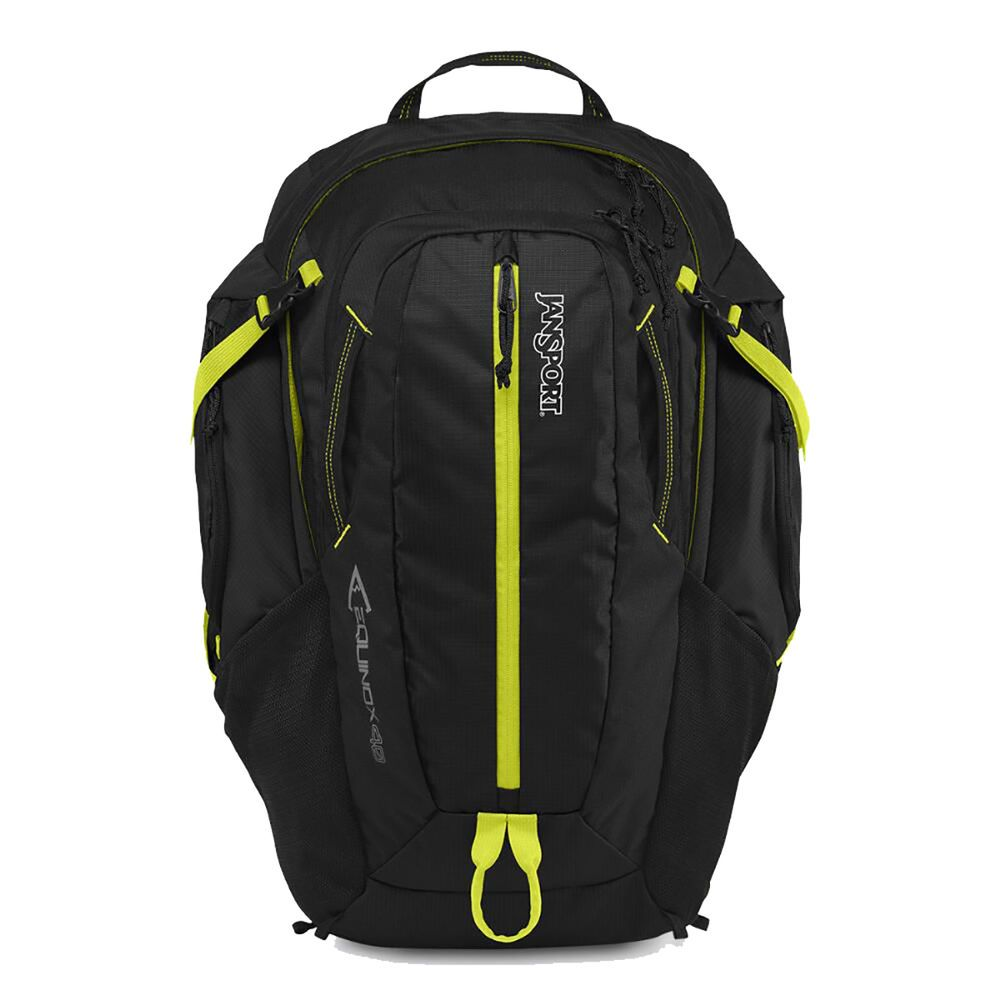ジャンスポーツ Jansport ユニセックス バックパック・リュック バッグ【JanSport Equinox 40 Backpack】Black