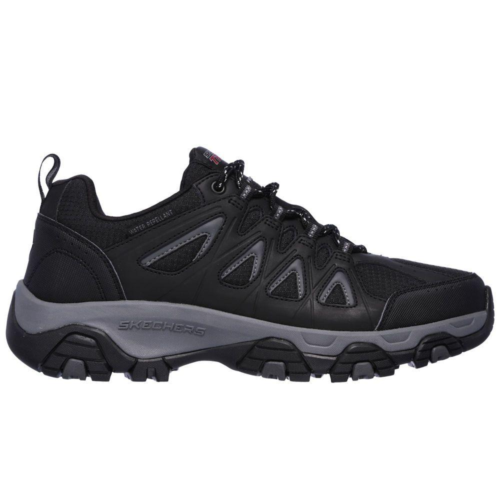 スケッチャーズ Skechers メンズ ハイキング・登山 シューズ・靴【Terrabite Trail Hiking Shoe】Black
