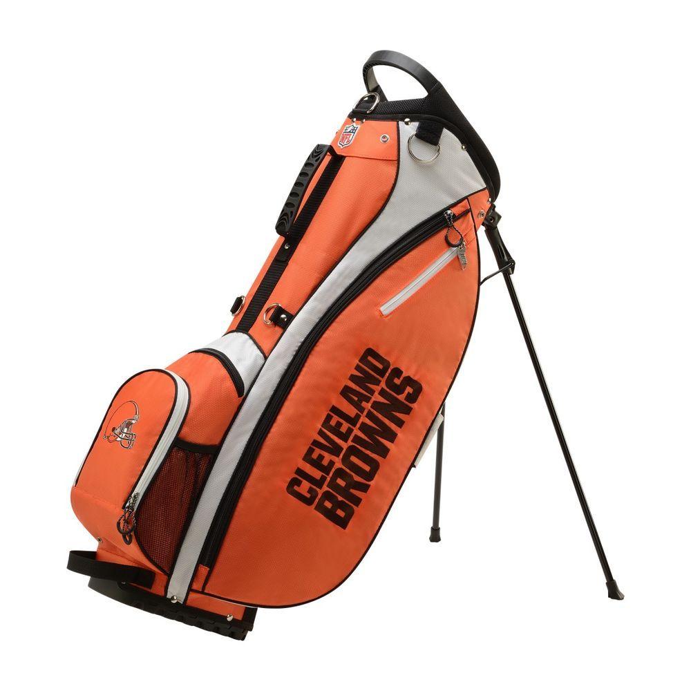 ウィルソン Wilson ユニセックス ゴルフ バッグ【Cleveland Browns Carry Golf Bag】Blue