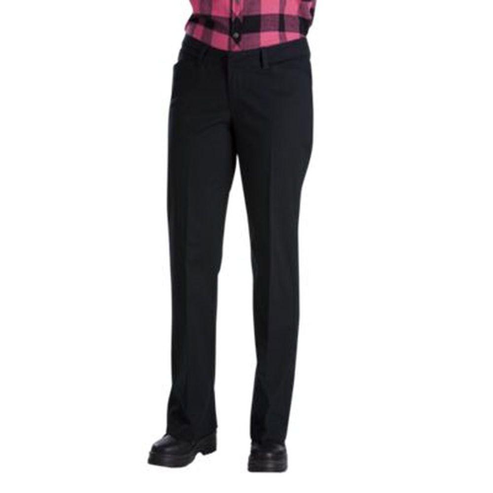 ディッキーズ Dickies レディース ボトムス・パンツ ストレートパンツ【Relaxed Fit Straight Leg Stretch Twill Pant】Black