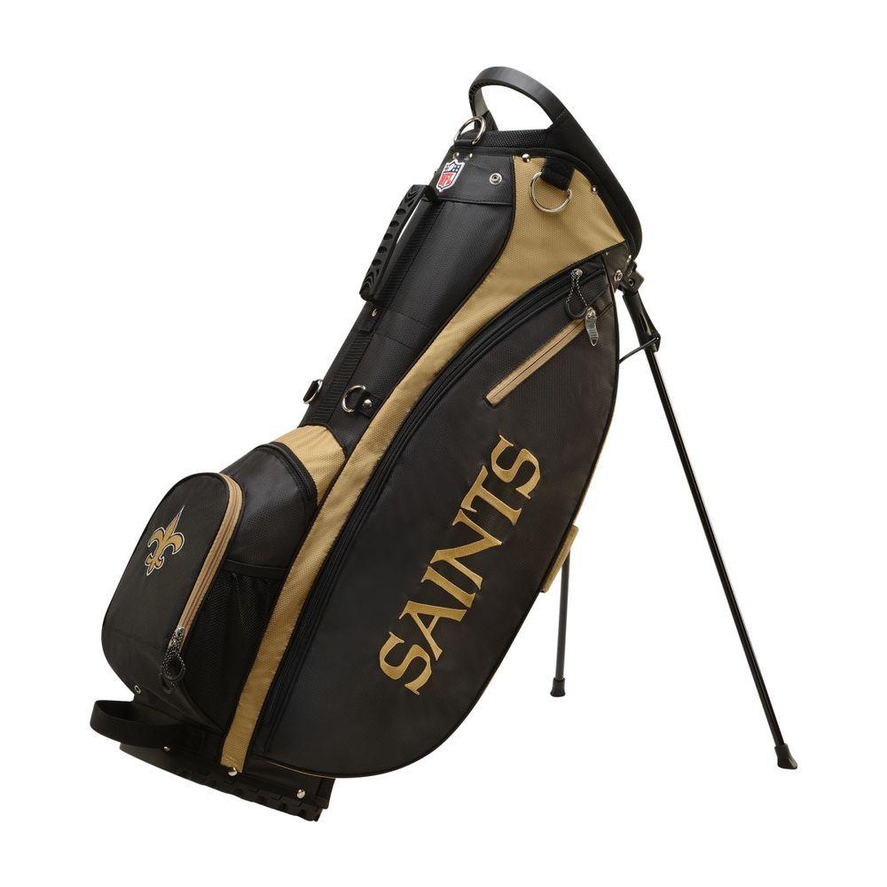ウィルソン Wilson ユニセックス ゴルフ バッグ【New Orleans Saints Carry Golf Bag】Green