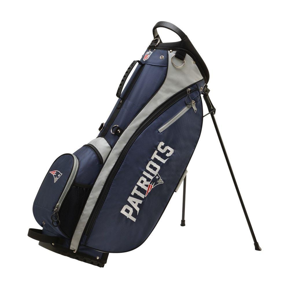 ウィルソン Wilson ユニセックス ゴルフ バッグ【New England Patriots Carry Golf Bag】Blue