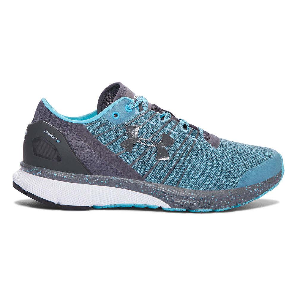 アンダーアーマー Under Armour レディース ランニング・ウォーキング シューズ・靴【Charged Bandit 2 Running Shoe】Blue/Grey