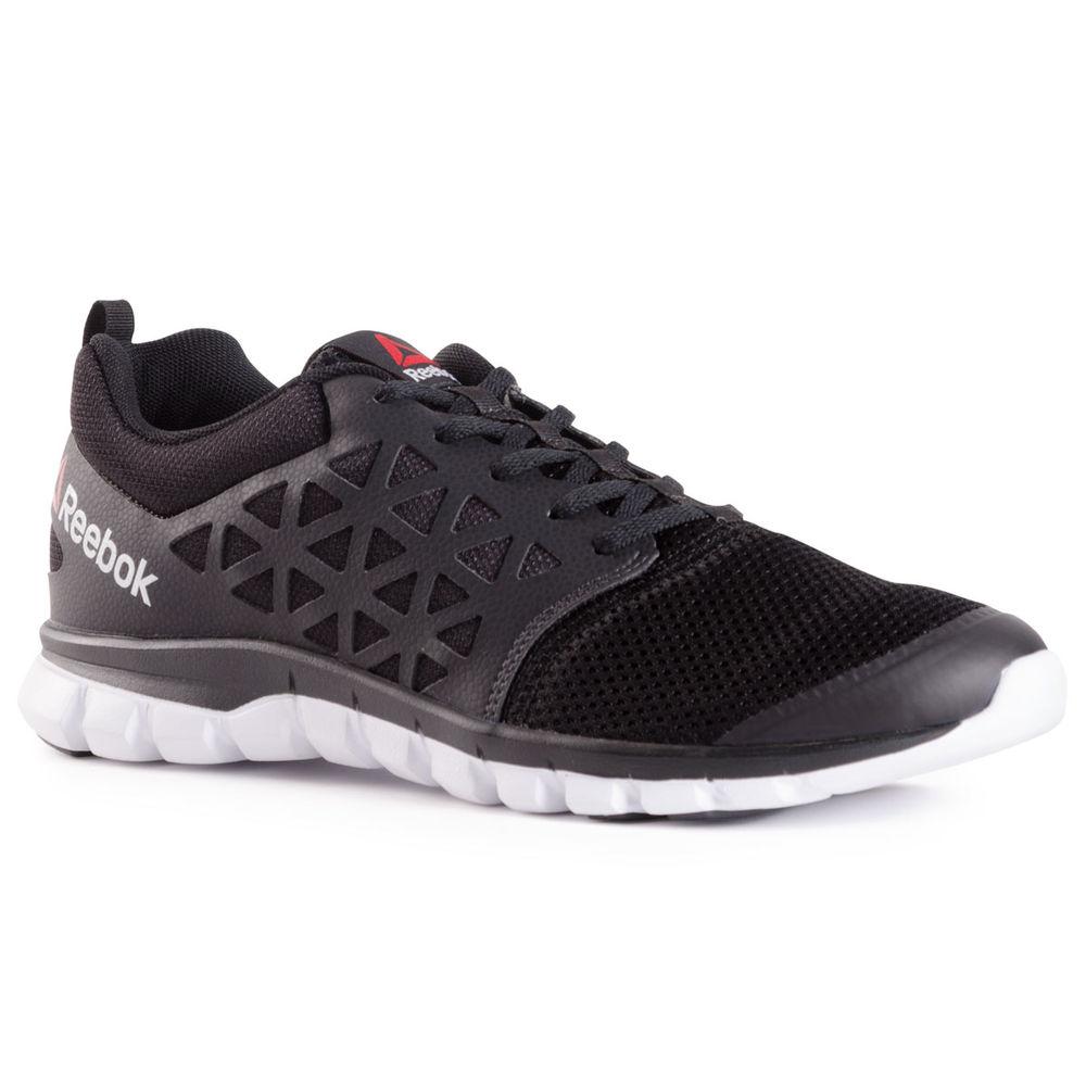 リーボック Reebok メンズ ランニング・ウォーキング シューズ・靴【Sublite XT Cushion 2.0 Running Shoes】Black/White