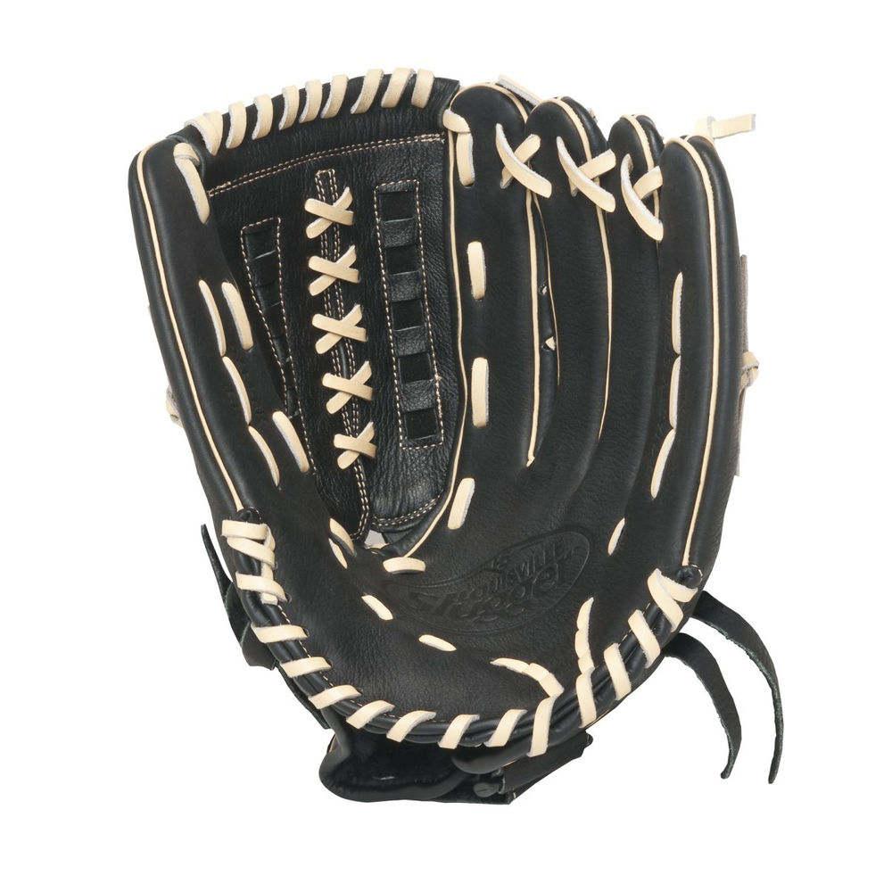 ルイスビルスラッガー Louisville Slugger ユニセックス 野球 グローブ【Dynasty 13 Inch Left Handed Throw Slow Pitch Softball Glove】Black