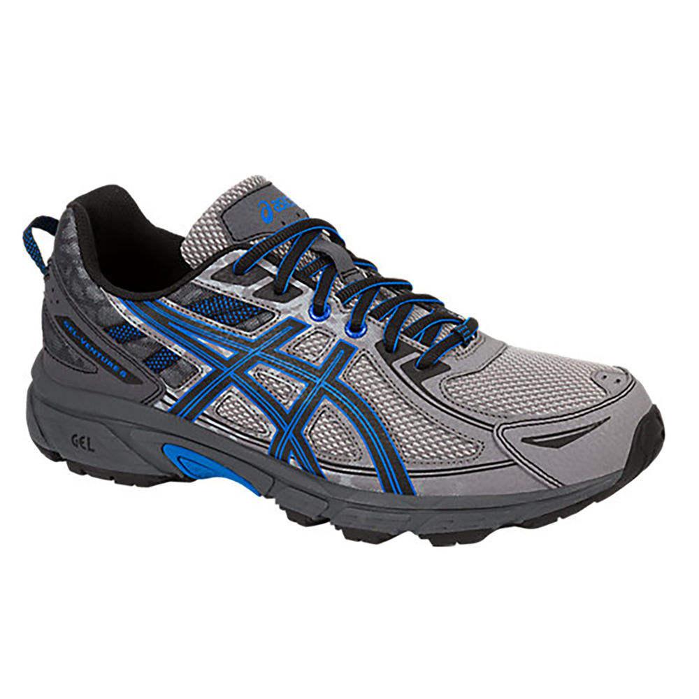 【最安値挑戦!】 アシックス アシックス 4E ASICS メンズ ランニング・ウォーキング シューズ・靴 Trail【Asics GEL Venture Trail 4E Running Shoe】Grey/Blue, 西原町:a026c4dc --- totem-info.com