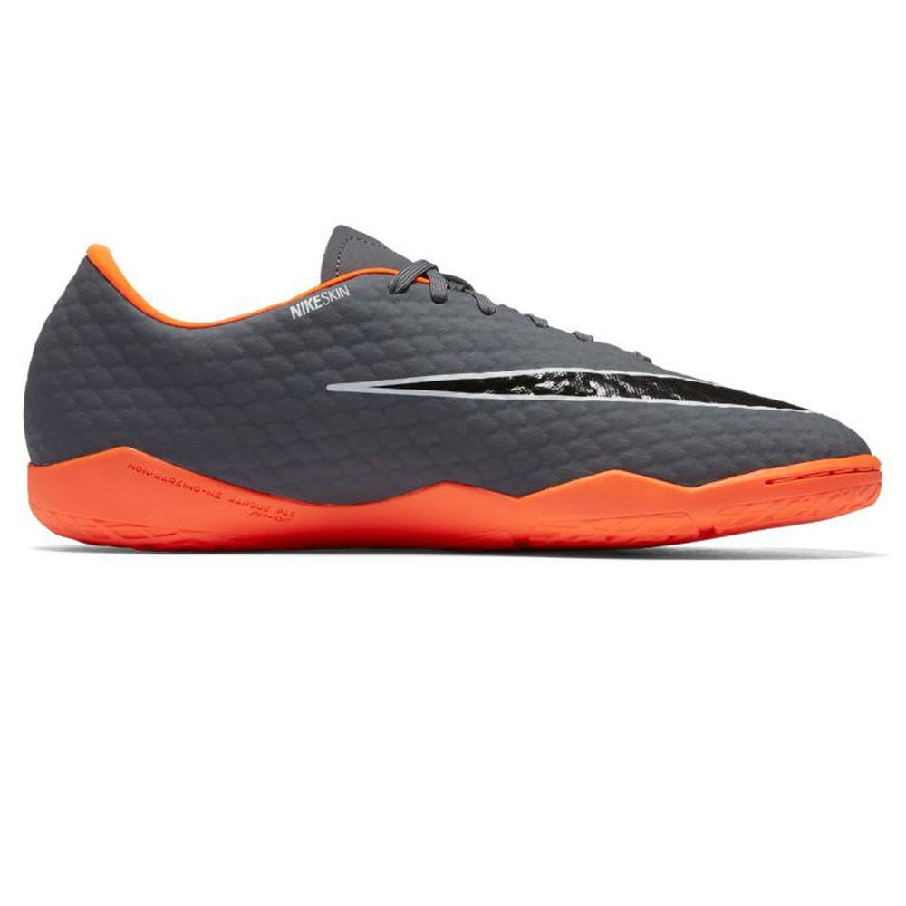 ナイキ Nike メンズ サッカー シューズ・靴【Hypervenom PhantomX III Academy Indoor Soccer Shoe】Grey/Orange