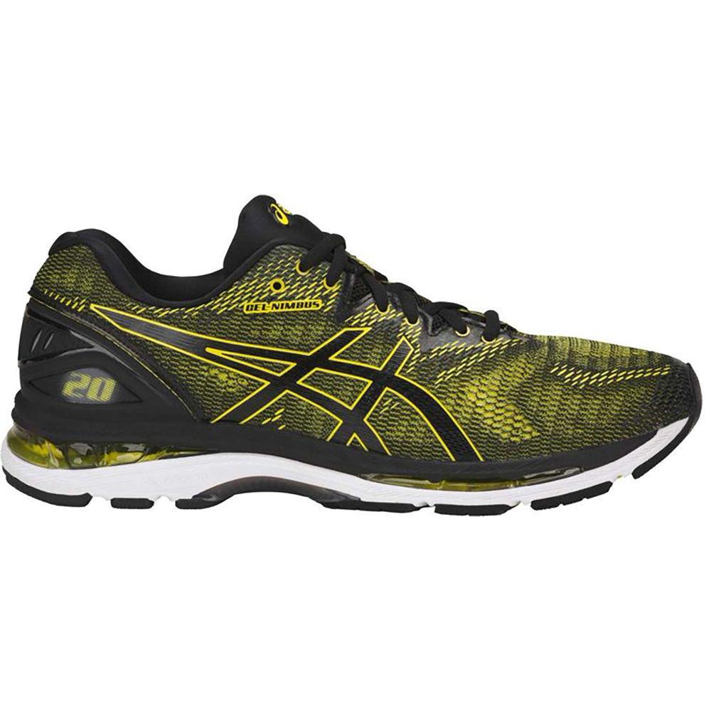 アシックス ASICS メンズ ランニング・ウォーキング シューズ・靴【Asics GEL-Nimbus 20 Running Shoes】Yellow-Black