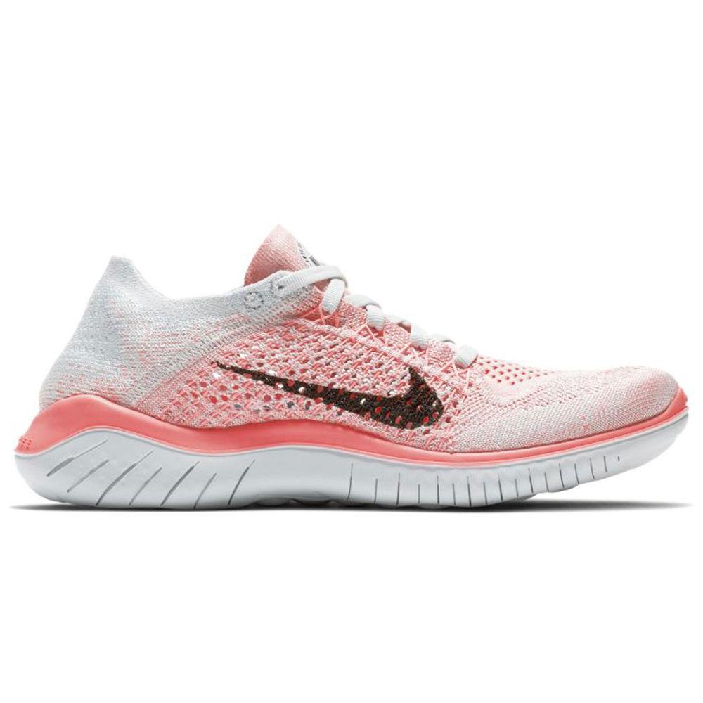ナイキ Nike レディース ランニング・ウォーキング シューズ・靴【Free RN Flyknit 2018 Running Shoe】Red/Black