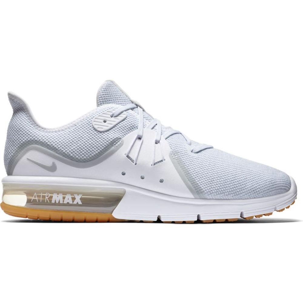 ナイキ Nike メンズ ランニング・ウォーキング シューズ・靴【Air Max Sequent 3 Running Shoe】White/Gum
