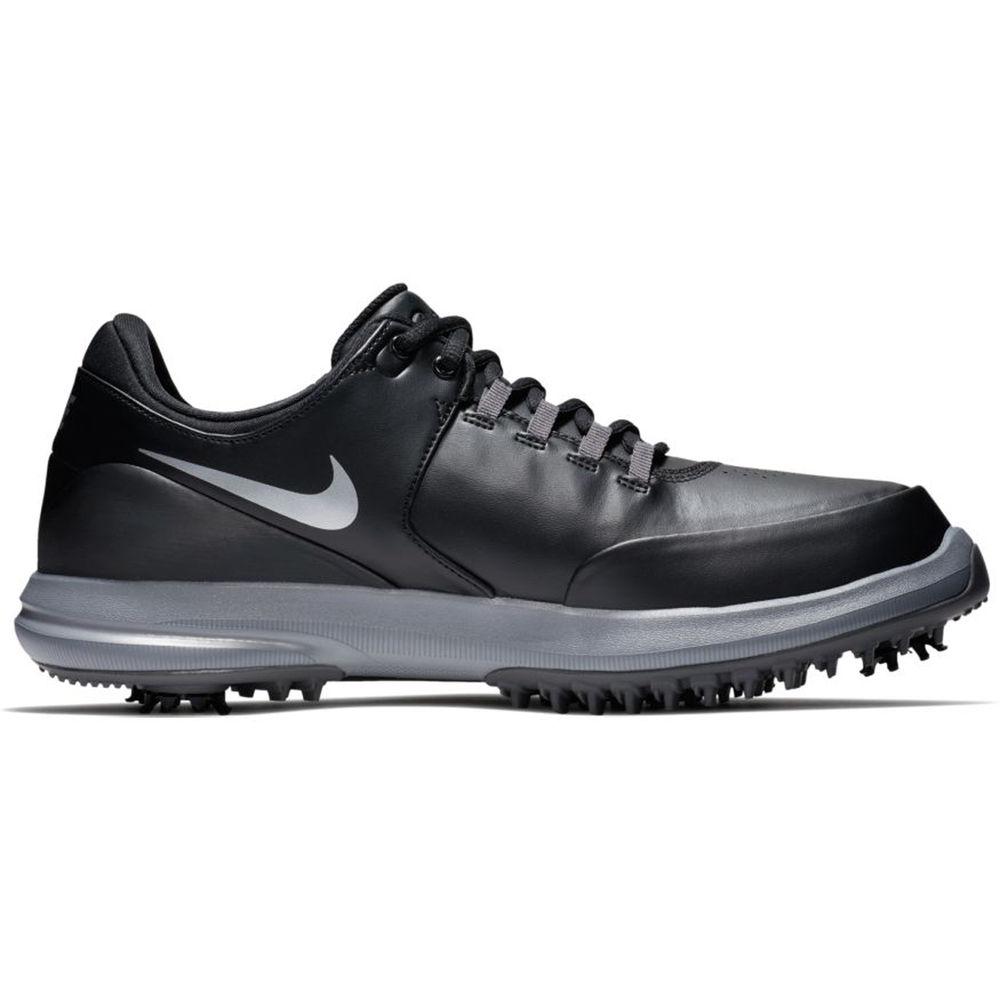 注目のブランド ナイキ Nike メンズ ゴルフ Accurate シューズ・靴【Air ナイキ ゴルフ Zoom Accurate Golf Shoe】Black Silver, 落合町:53731f1d --- bibliahebraica.com.br