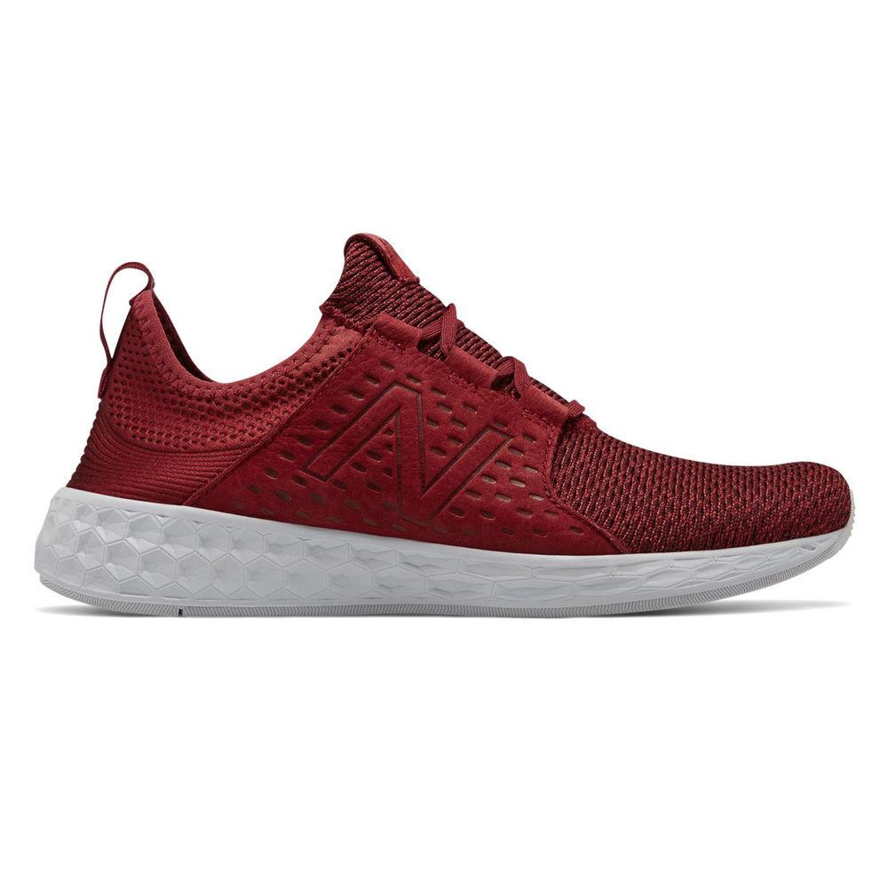 ニューバランス New Balance メンズ ランニング・ウォーキング シューズ・靴【Fresh Foam Cruz Running Shoe】Red/White