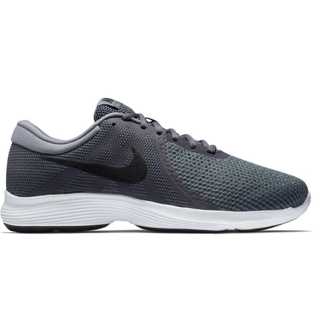 ナイキ Nike メンズ ランニング・ウォーキング シューズ・靴【Revolution 4 Wide Width Running Shoe】Grey/Black