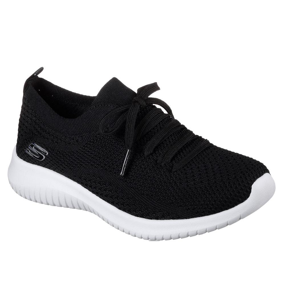 スケッチャーズ Skechers レディース シューズ・靴 スニーカー【Ultraflex Statement Casual Shoe】Black/White