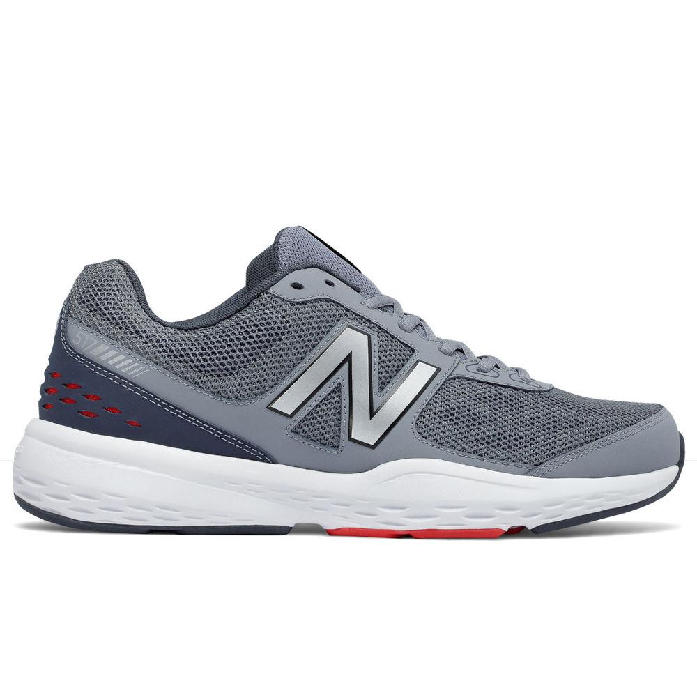 ニューバランス New Balance メンズ フィットネス・トレーニング シューズ・靴【517 Training Shoes】Grey/Red/White