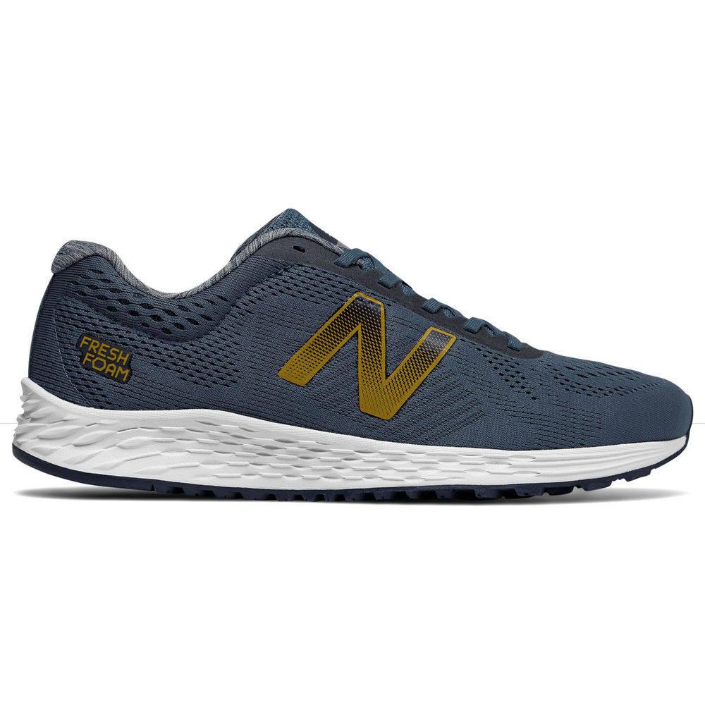 高い素材 ニューバランス New Balance メンズ Arishi ランニング・ウォーキング シューズ・靴 New【Fresh Balance Foam Arishi Running Shoe】Blue/Gold, 文具の森:2821d96e --- totem-info.com