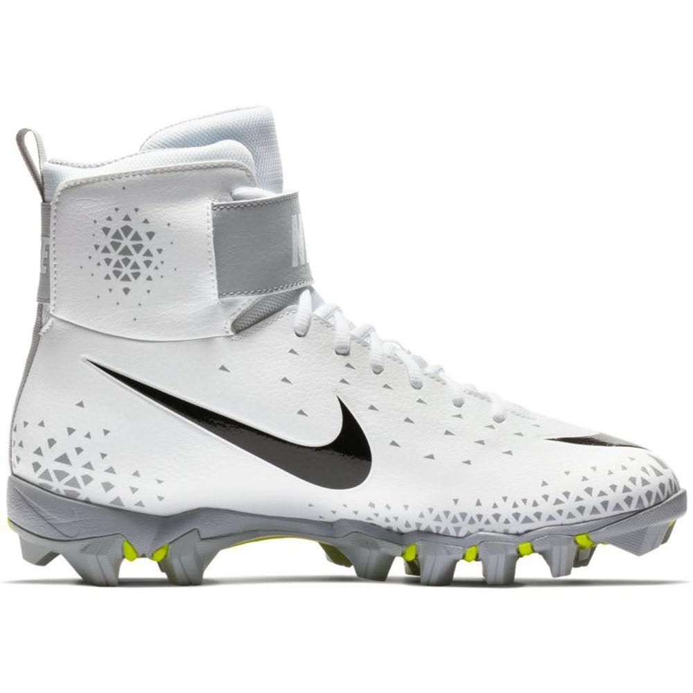 ナイキ Nike メンズ アメリカンフットボール シューズ・靴【Force Shark Football Cleat】White/Black