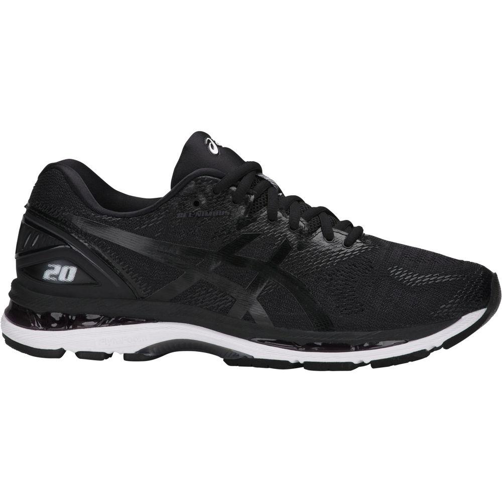 アシックス ASICS メンズ ランニング・ウォーキング シューズ・靴【Asics GEL-Nimbus 20 Running Shoe】Black/White