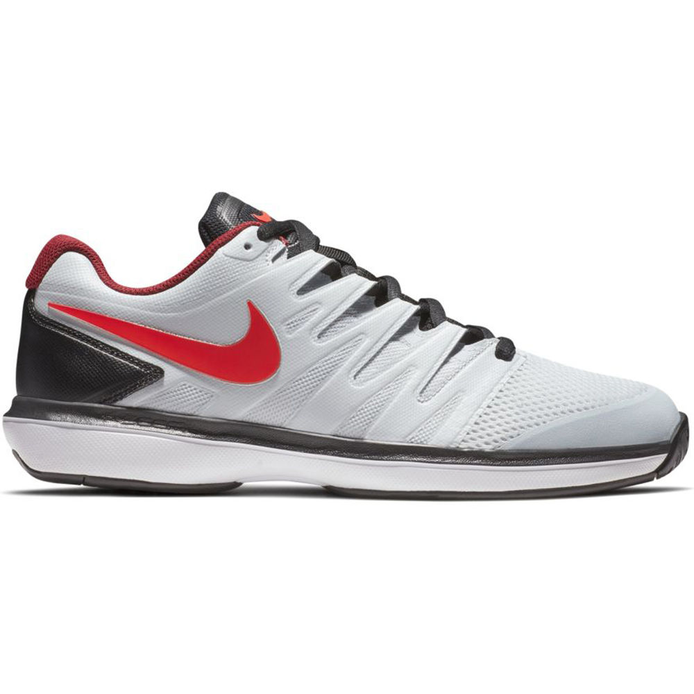 ナイキ Nike メンズ テニス シューズ・靴【Air Zoom Prestige Tennis Shoe】White/Red/Black