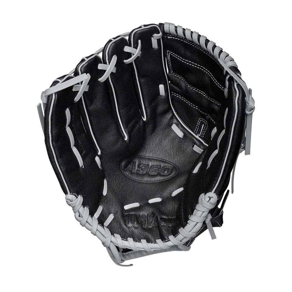ウィルソン Wilson ユニセックス 野球 グローブ【A360 12-Inch Left-Handed Baseball Glove】Black