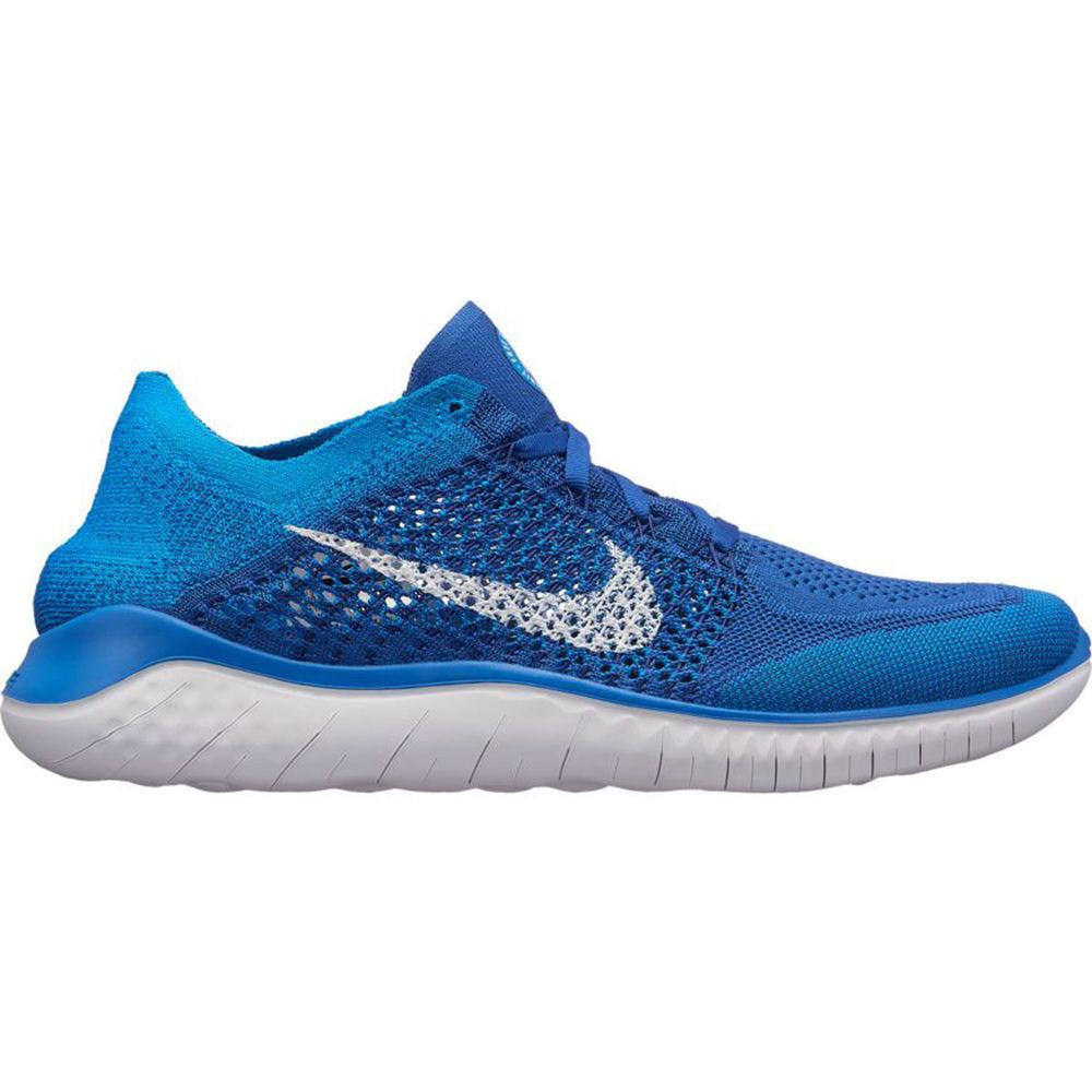 ナイキ Nike メンズ ランニング・ウォーキング シューズ・靴【Free RN Flyknit 2018 Running Shoe】Royal/White
