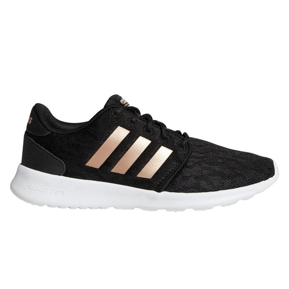 アディダス adidas レディース シューズ・靴 スニーカー【Cloudfoam QT Racer Casual Shoe】Black