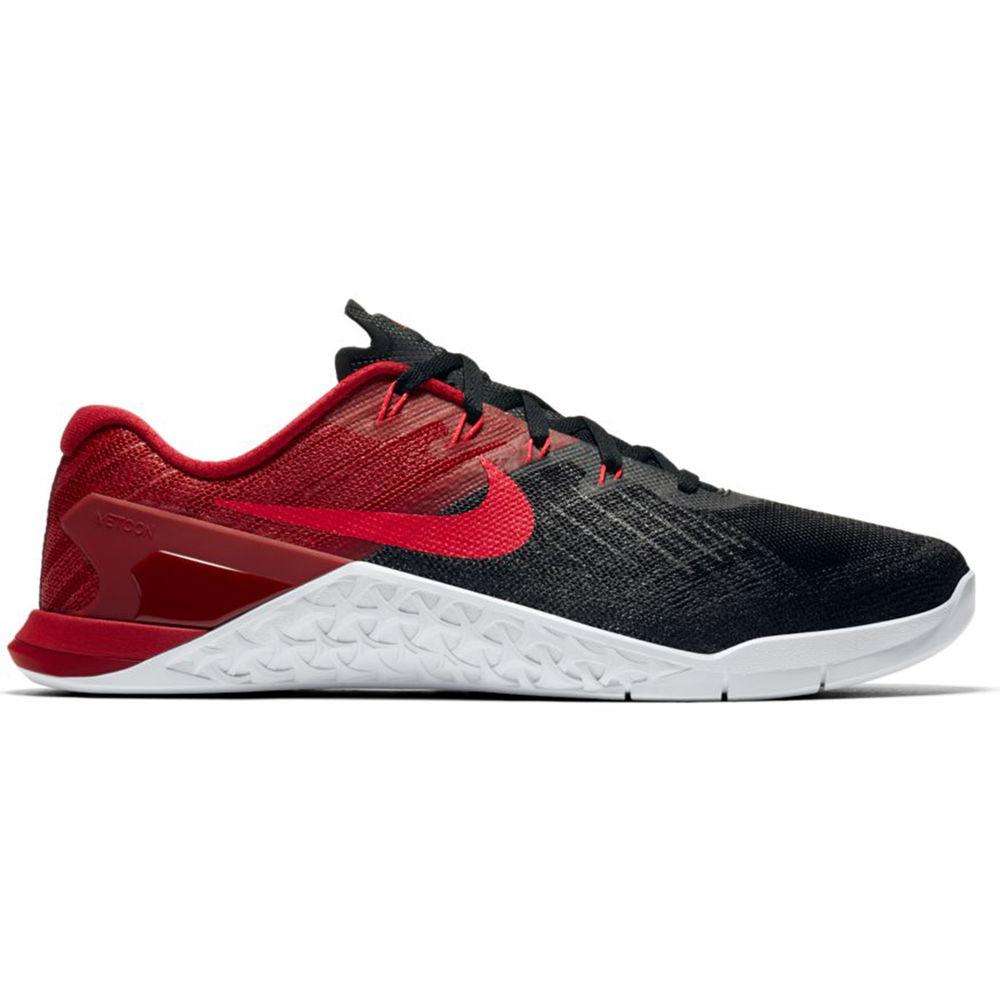 ナイキ Nike メンズ フィットネス・トレーニング シューズ・靴【Metcon 3 Training Shoe】Black/Red/White